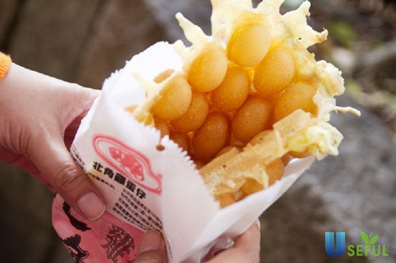 Bánh trứng gà non - một món ăn vặt Hồng Kông