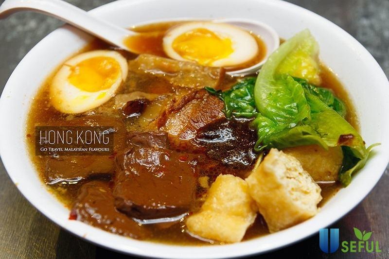Món ăn nổi tiếng bò hầm của Hồng Kông