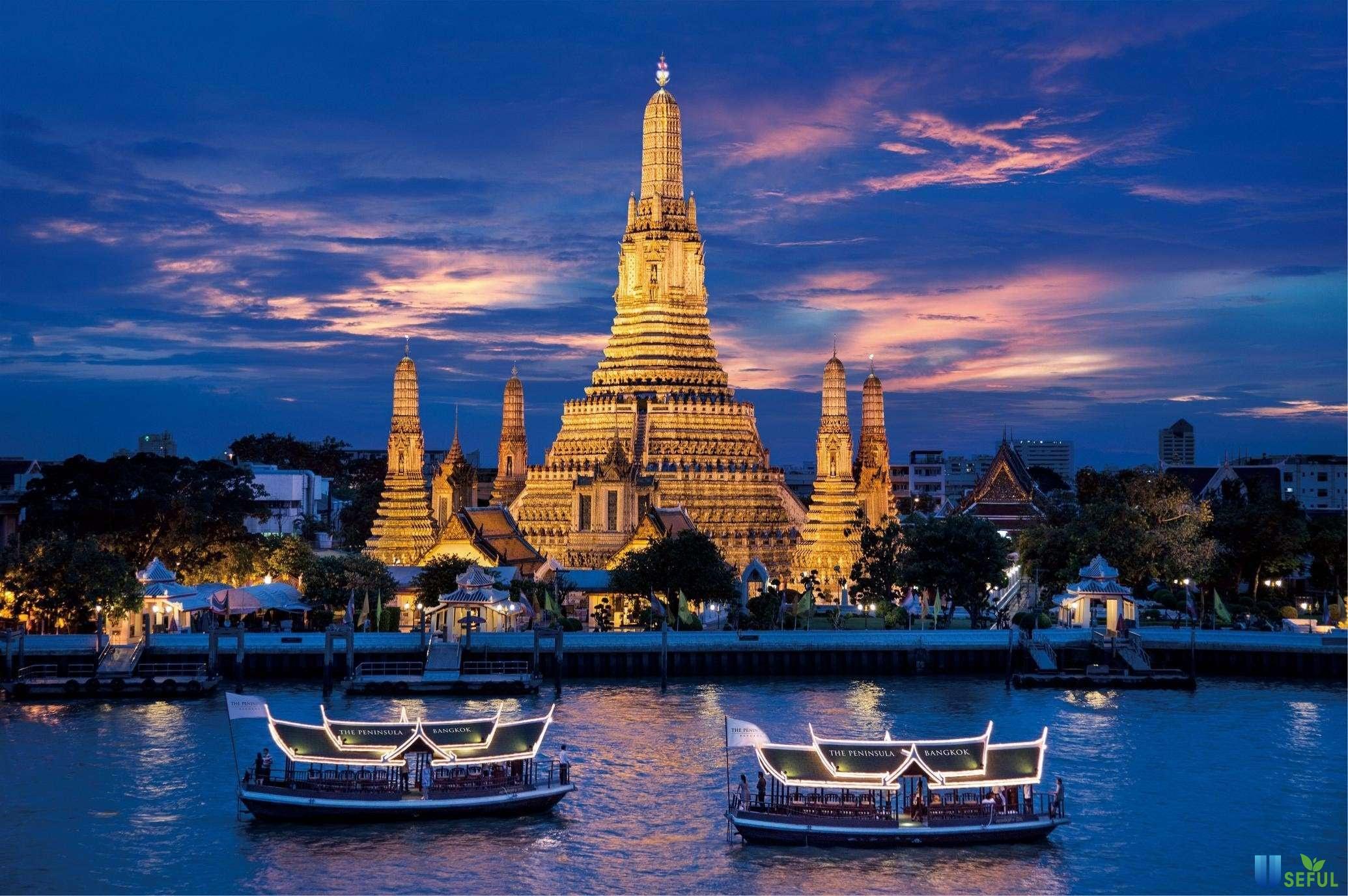 Quang cảnh lãng mạn của Thái Lan - đi Thái Lan mùa nào đẹp nhất
