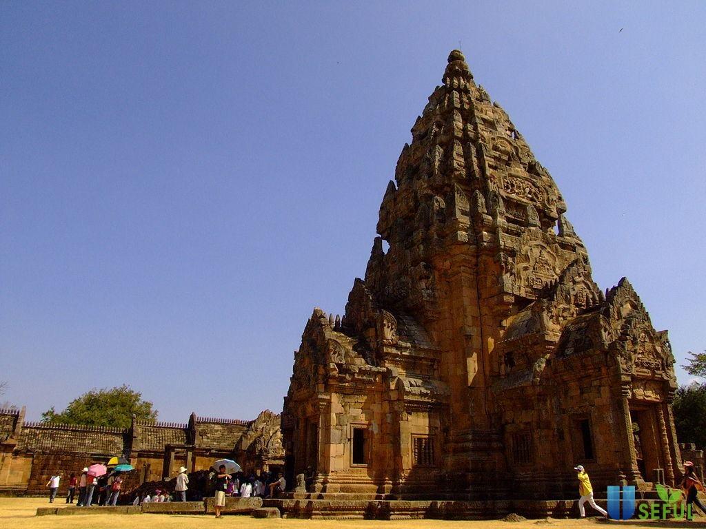 Ngôi đền Phanom Rung với kiến trúc tinh xảo