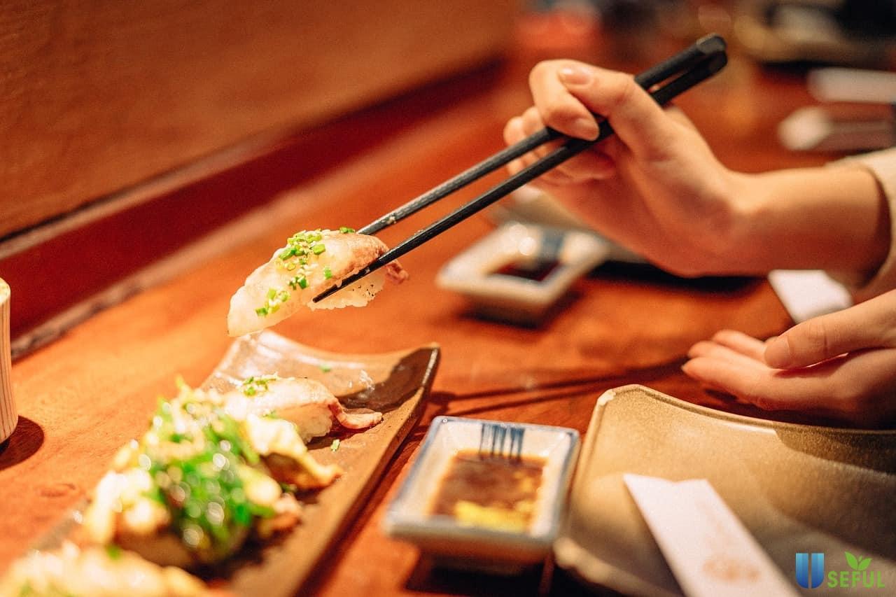Những nguyên tắc khi dùng bữa của người dân Nhật Bản