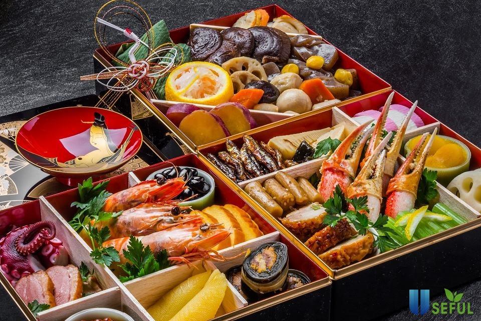 Màu sắc cũng như hương vị rất được coi trọng trong các món ăn Nhật