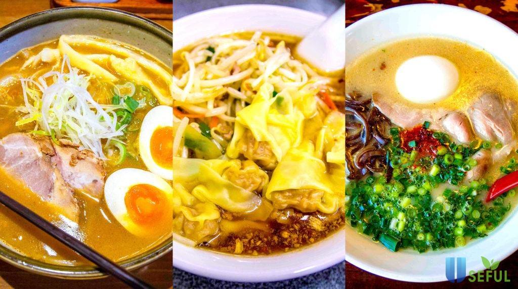 Hương vị món ăn mỗi vùng mỗi khác ở Nhật Bản