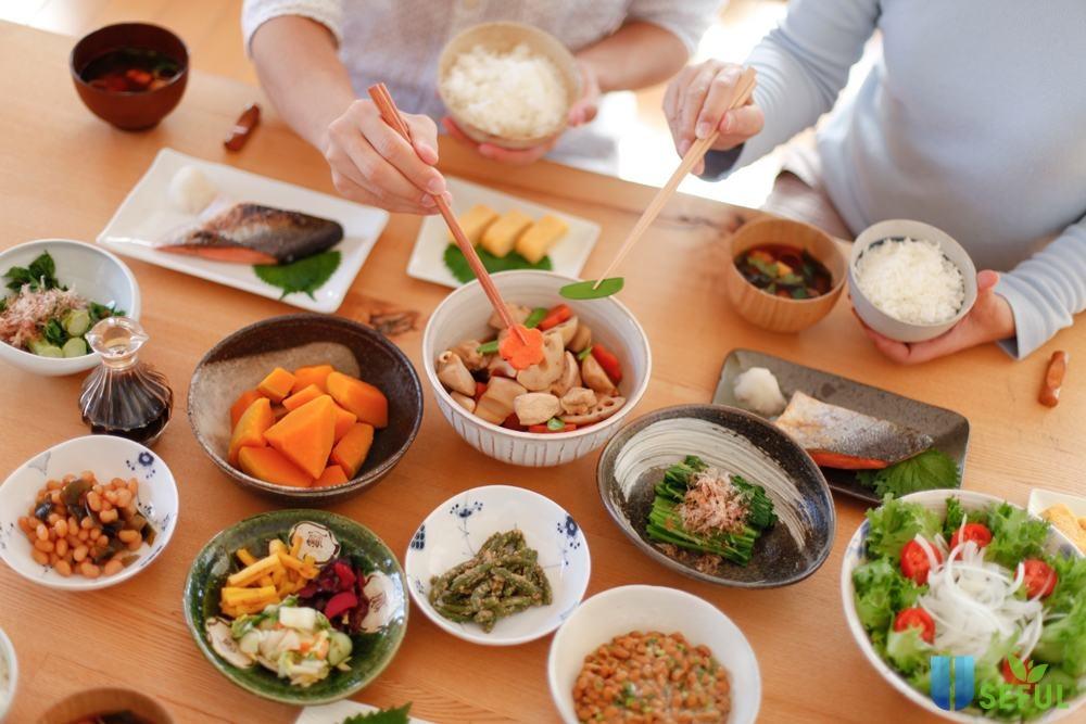 Các món ăn luôn đề cao vấn đề dinh dưỡng và sức khỏe lên hàng đầu