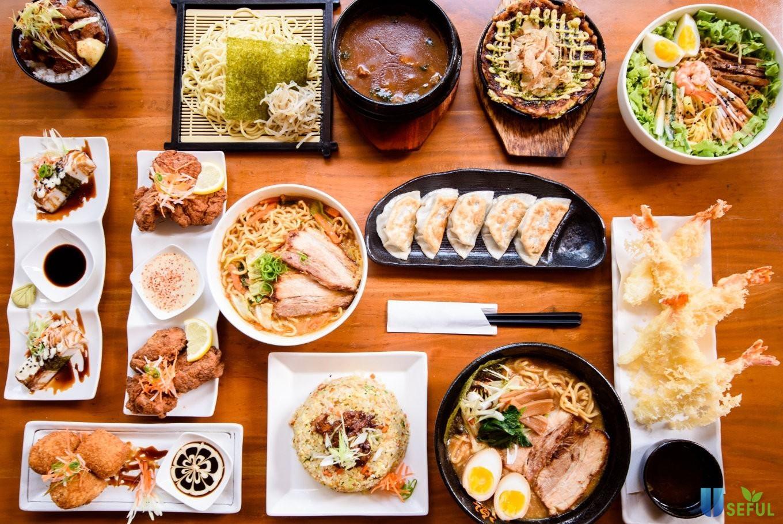 Những món ăn được bày biện đẹp mắt, tinh tế trong những bữa ăn của người Nhật