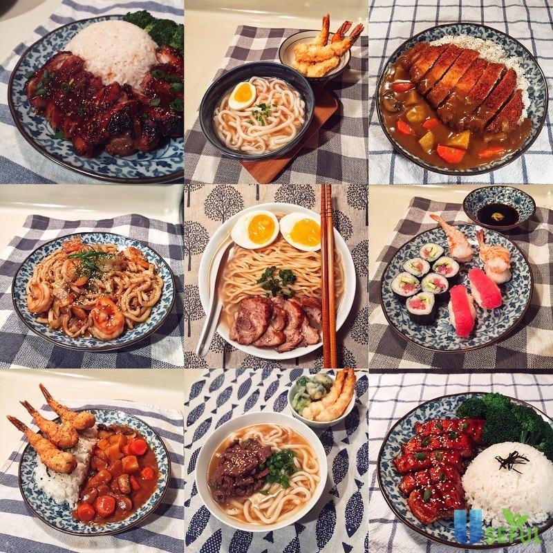 """""""Đa dạng"""" là từ dùng để diễn tả các bữa ăn mỗi ngày của người Nhật"""