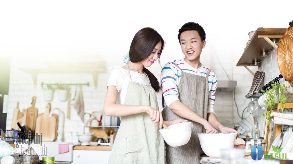 Những bữa ăn đơn giản do chính tay chồng nấu tặng vợ