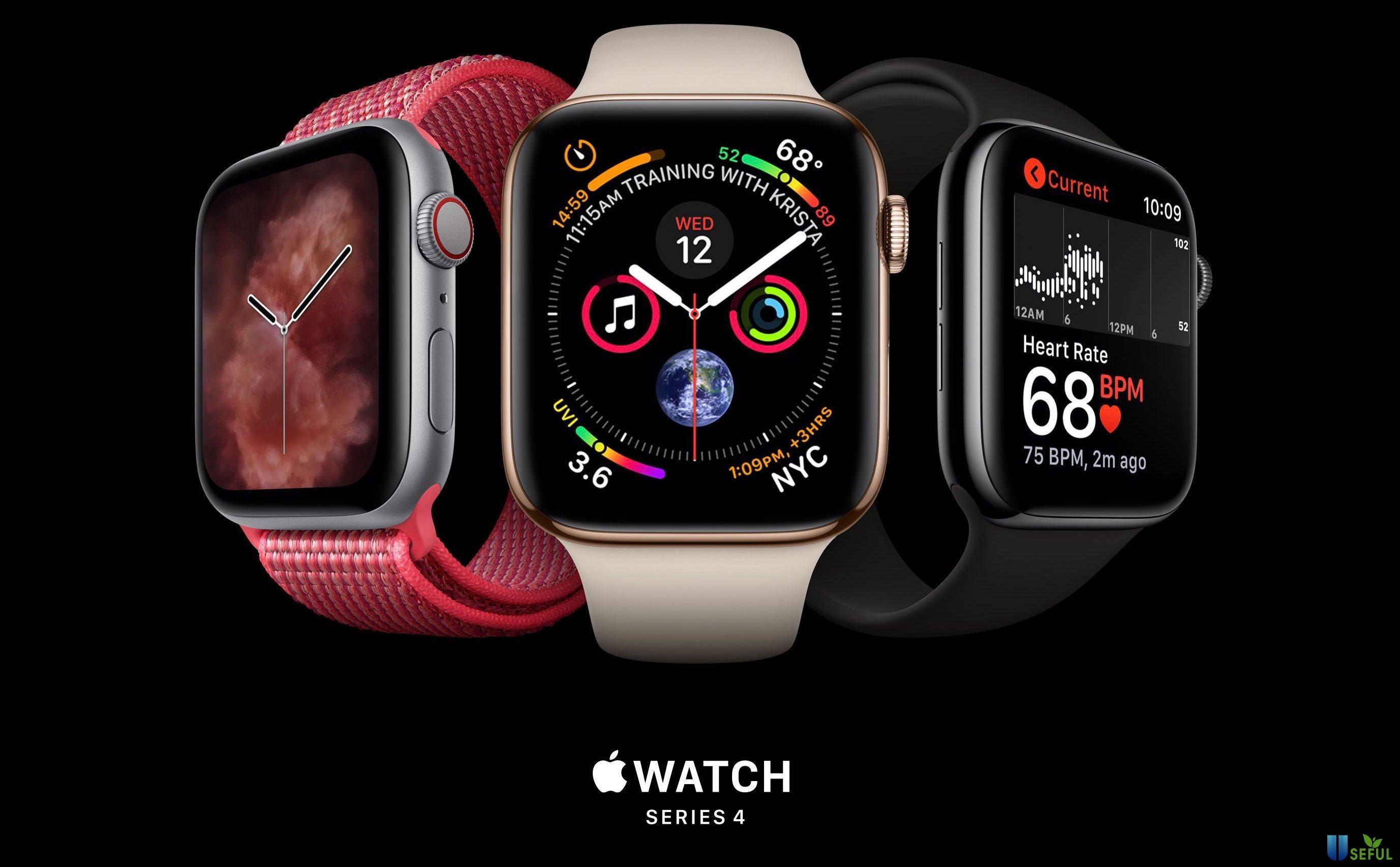 Đồng hồ thông minh Apple Watch Series 4 có mấy phiên bản
