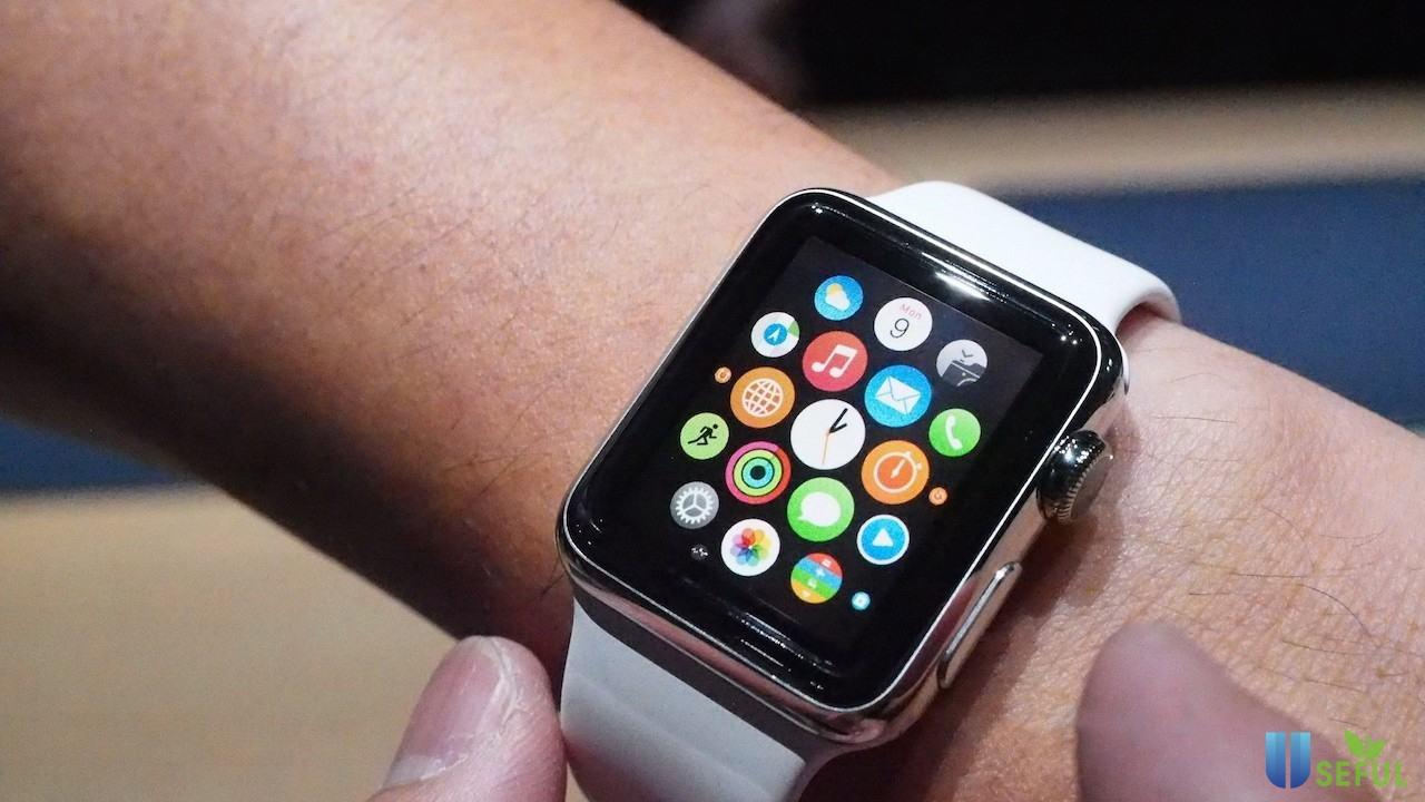 Chiếc đồng hồ thông minh thế hệ đầu tiên của Apple Watch