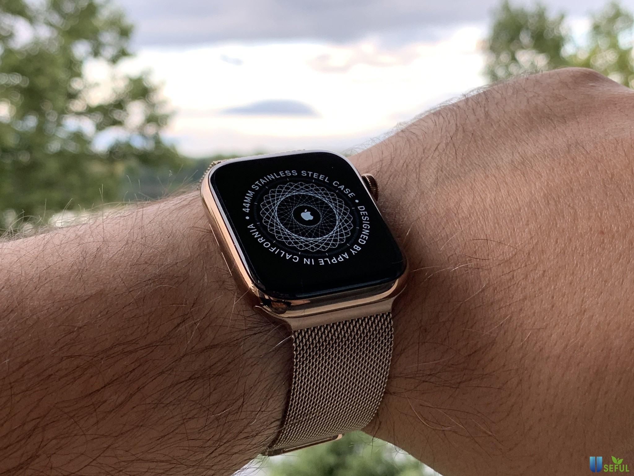 Apple Watch Series 4 cải tiến bản thép