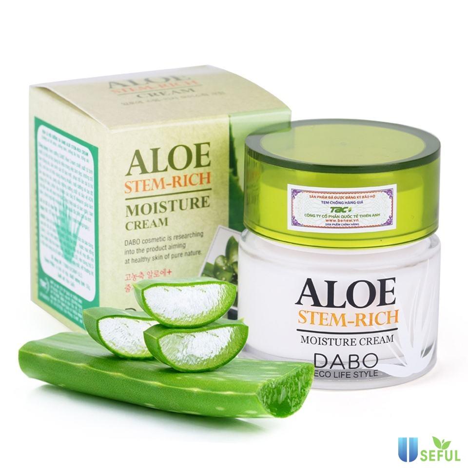Kem dưỡng da sau sinh DABO Aloe Cream