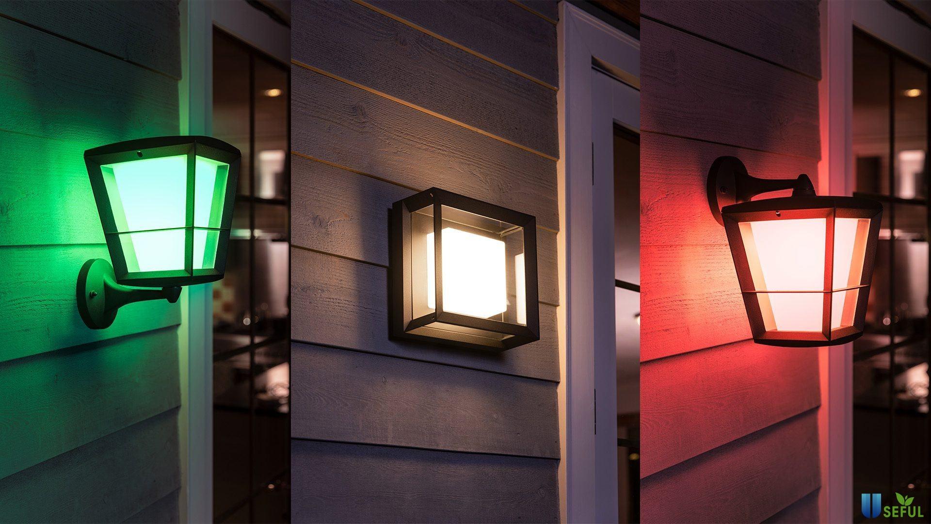 Econic Outdoor Wall Light với khả năng chống chịu với cả thời tiết khắc nghiệt