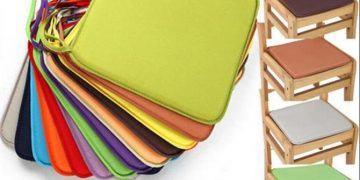Đệm Square Seat Pad với màu sắc đơn giản và trang nhã