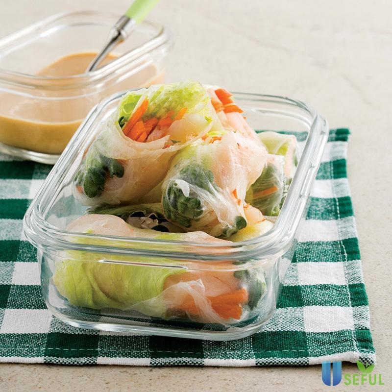 Các loại hộp thủy tinh dày và giữ thực phẩm chắc chắn là sự lựa chọn không tồi khi cần bảo quản thực phẩm trong tủ lạnh
