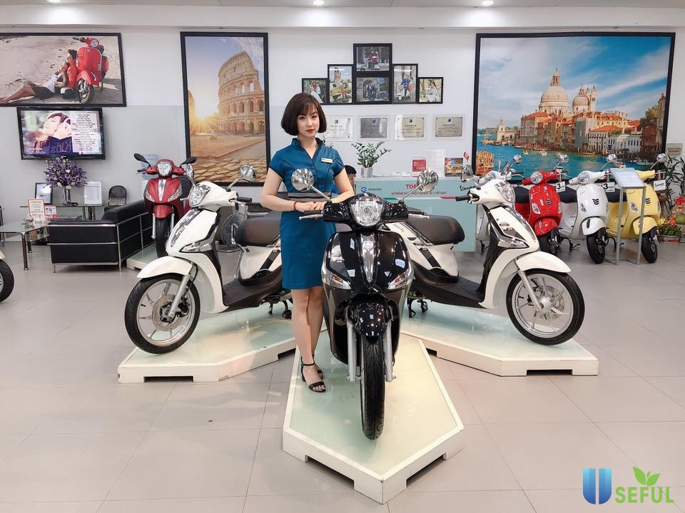 Piaggio Liberty One 125cc được sáng tạo dựa trên nhiều ý tưởng nghệ thuật