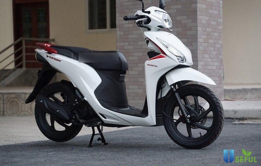 Honda Vision 2019 có thiết kế trang nhã và tinh tế