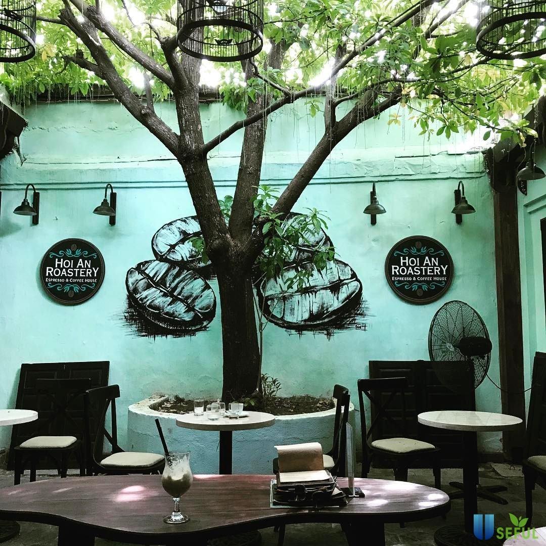 Roastery coffee là một trong những quán cà phê ấn tượng ở Hội An