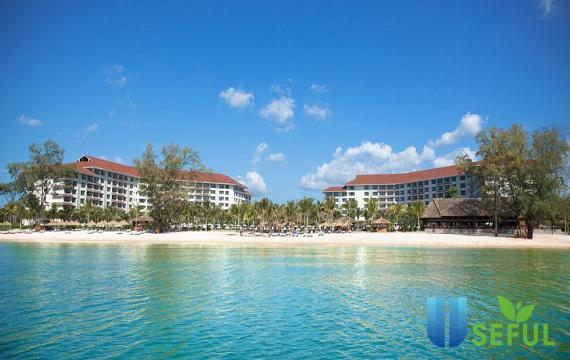 Vinpeart Resort Phú Quốc nằm duyên dáng bên cạnh bãi Dài