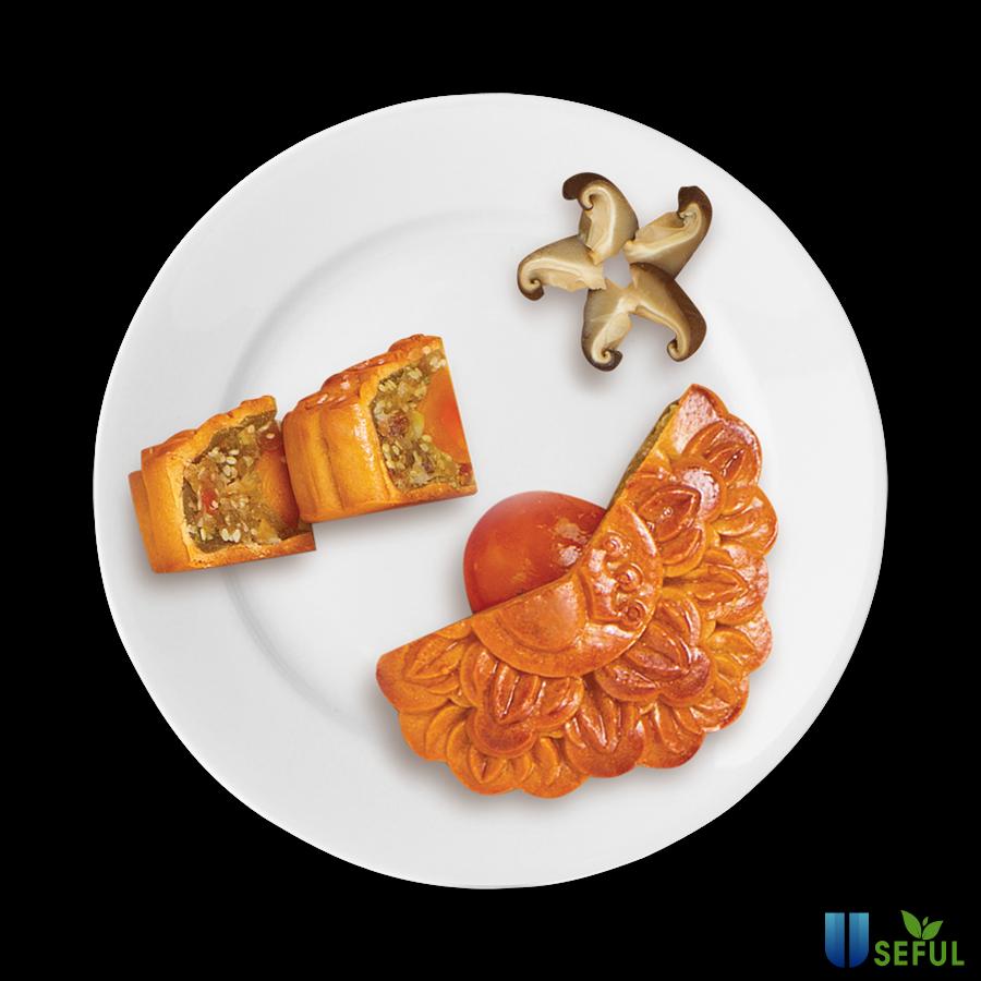 Bánh Trung thu nhân mặn (Nguồn: foody.vn)