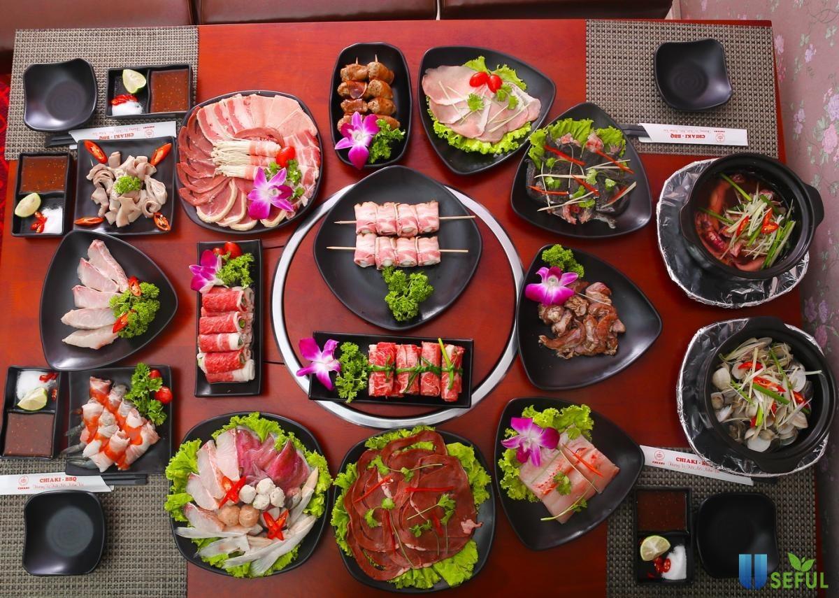 Ăn thịt kèm rau xanh để bữa ăn trọn vị