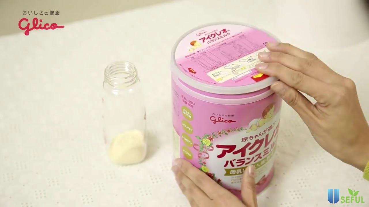 Mẫu sữa Glico số 0
