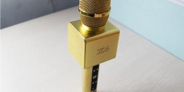 Micro kèm loa Bluetooth X6