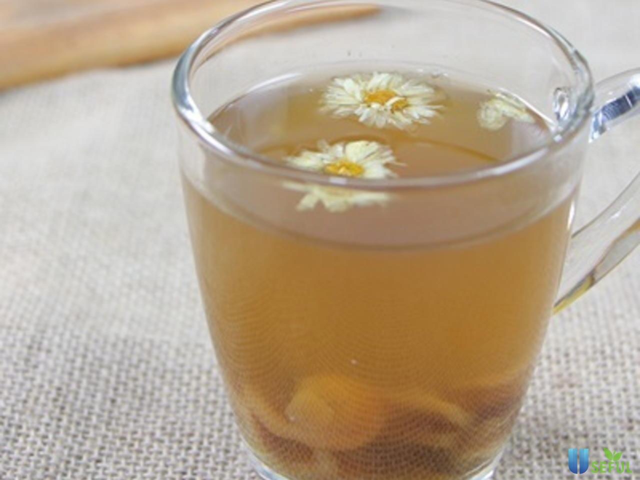 Một ly bông cúc nhãn nhục sẽ giúp bạn thoải mái hơn
