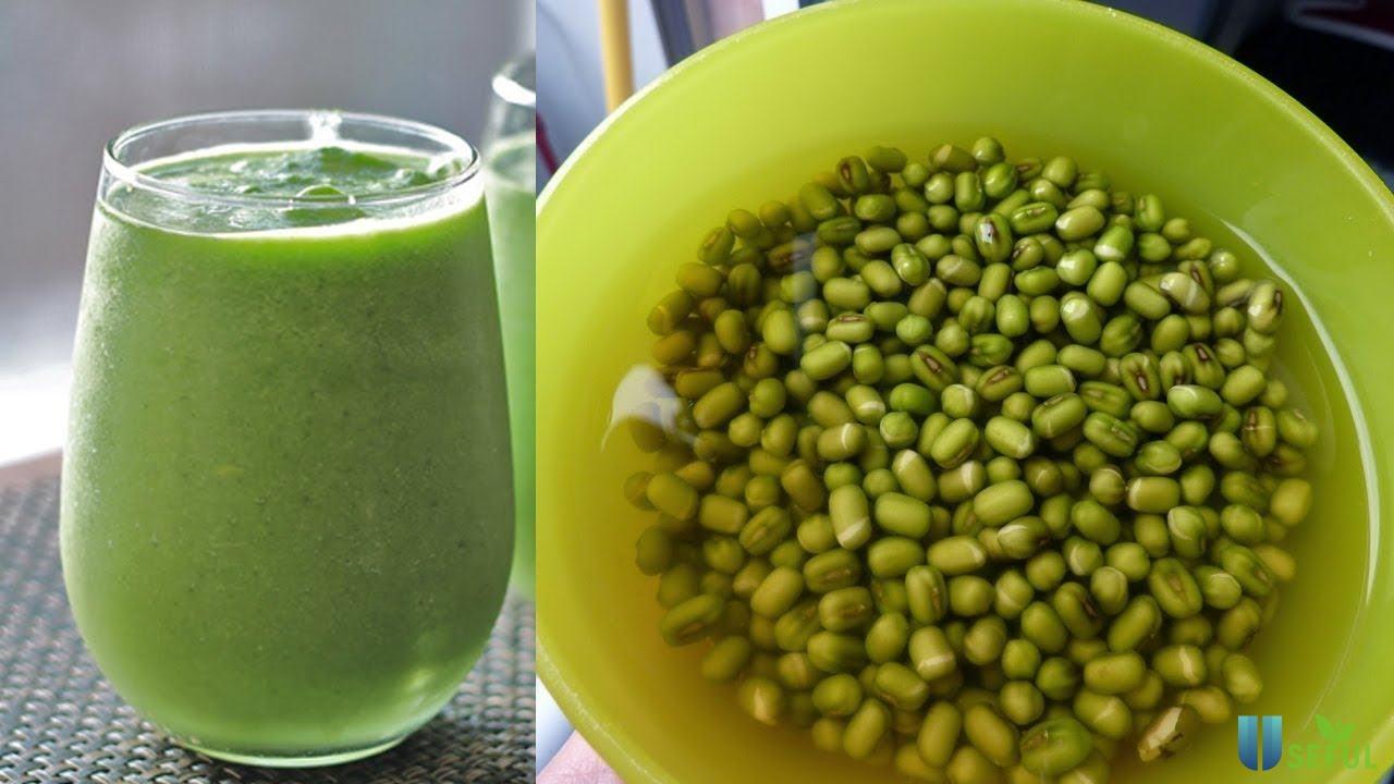 Nước đậu xanh với vị ngọt thanh nhẹ giúp cơ thể đào thải độc tố và thoải mái
