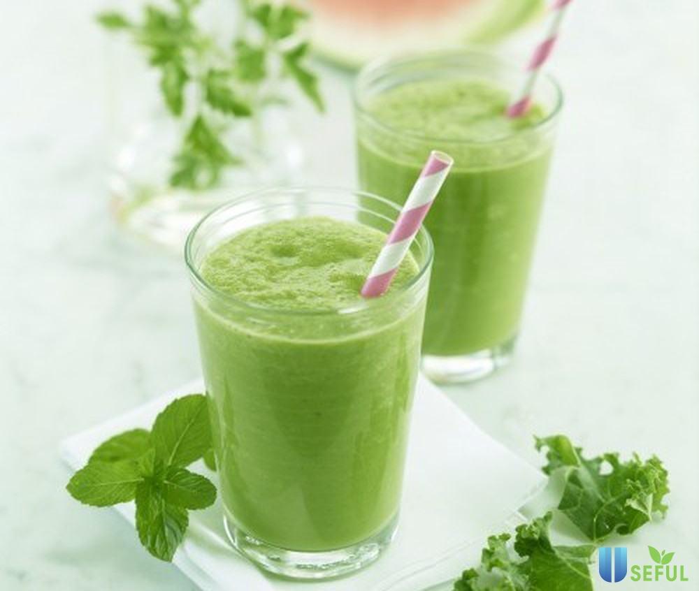 Hỗn hợp rau má đậu xanh uống giải khát cực tốt