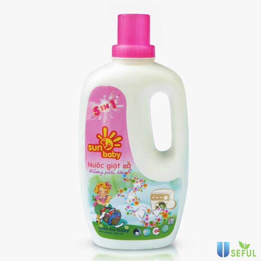 Nước giặt xả Sunbaby cho bé