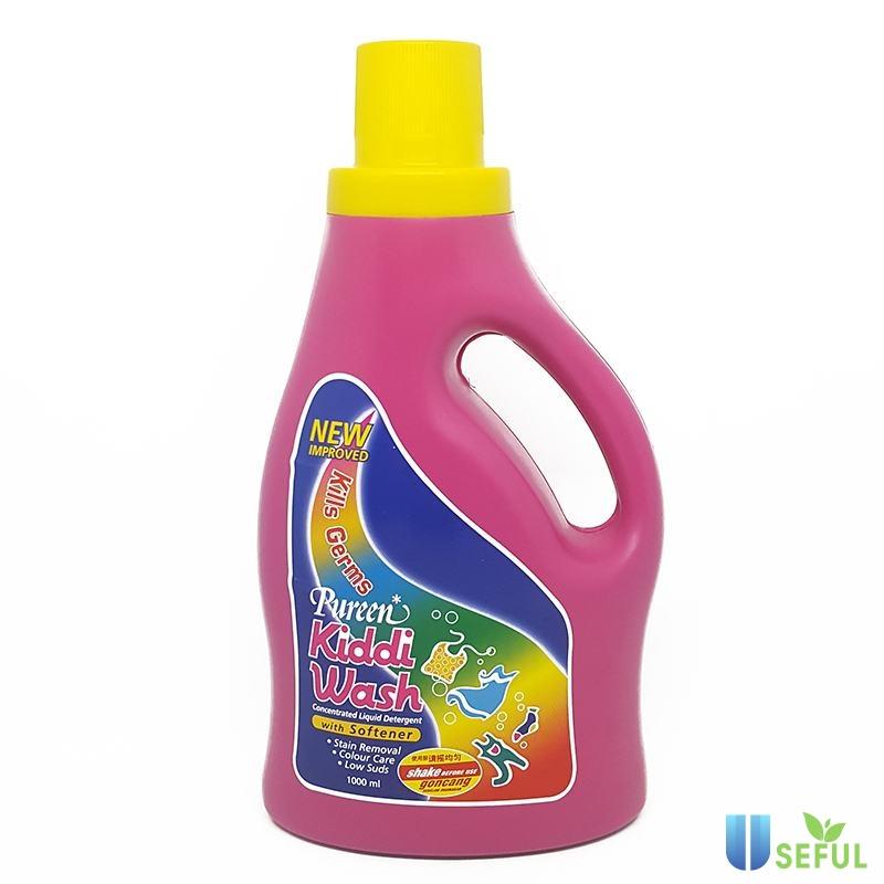 Nước giặt xả Kiddi wash Pureen