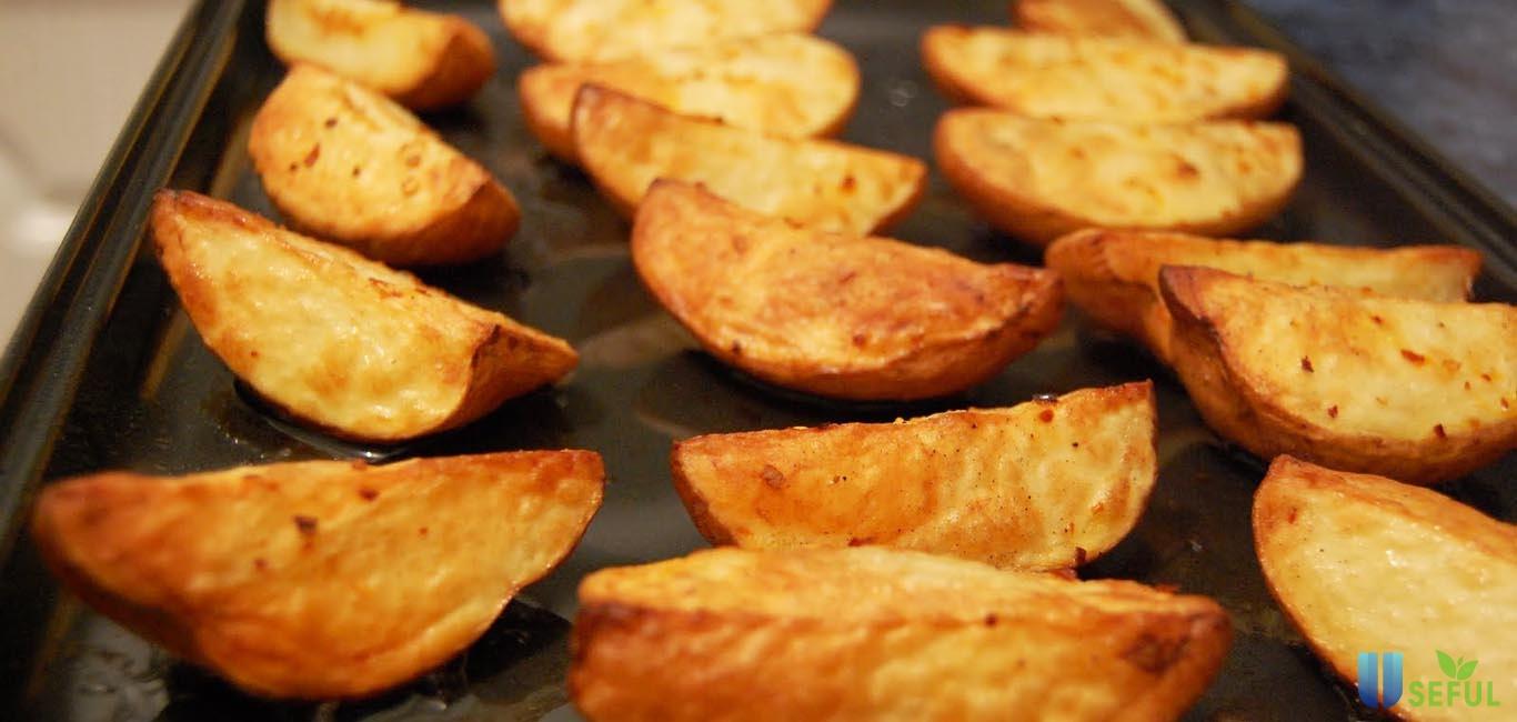 Cách nướng khoai bằng lò nướng chảy mật thơm đúng nhiệt độ thời gian - Useful.vn Useful.vn