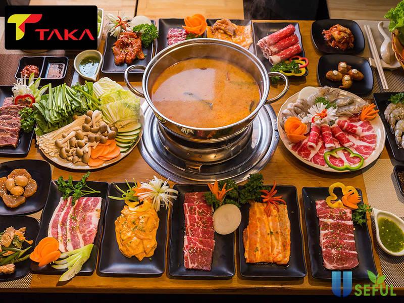 Chất lượng các món ăn luôn được đặt lên hàng đầu tại chuỗi nhà hàng Taka