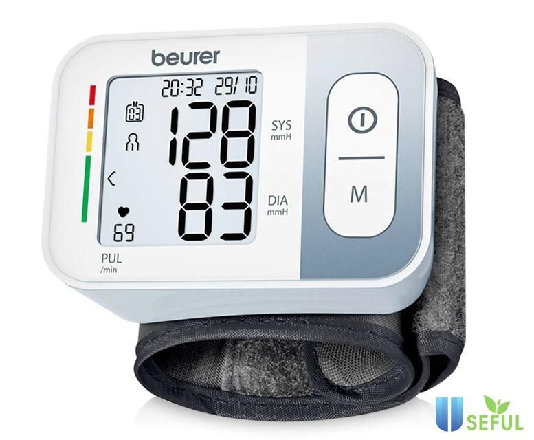 Máy đo kiểm soát huyết áp điện tử cổ tay Beurer BC28