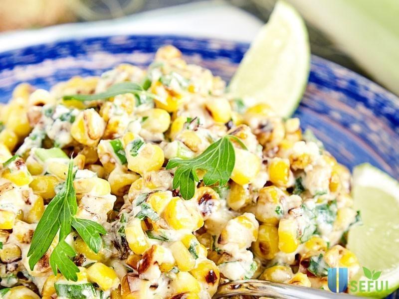 Salad fiesta mới mẻ và nhiều chất rau xanh