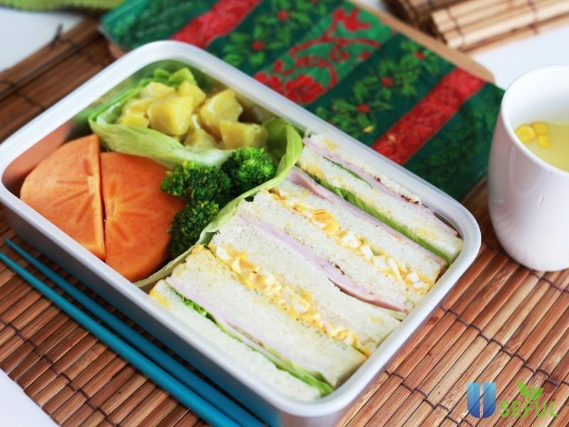 Những hộp sandwich đẹp mắt sẽ khiến bạn ngon miệng hơn