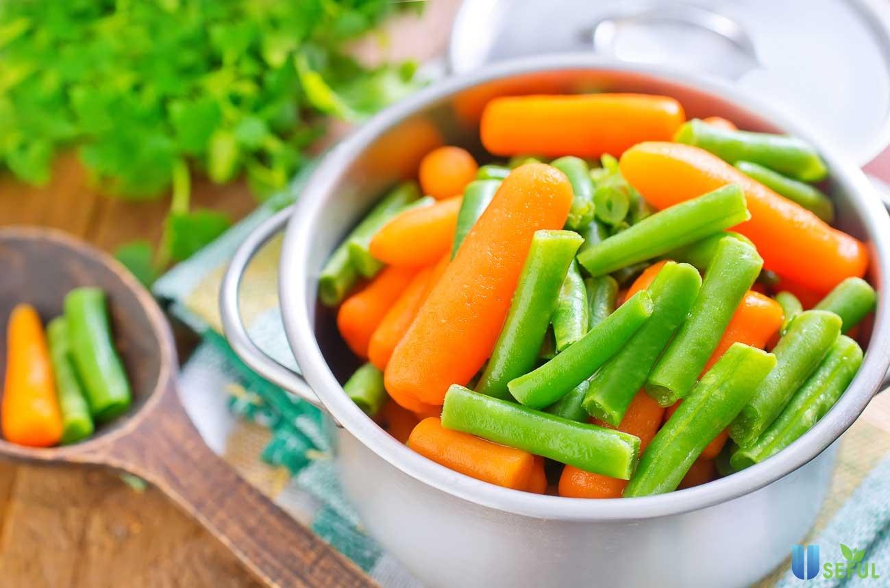 Bổ sung thêm nhiều rau xanh trong bữa ăn