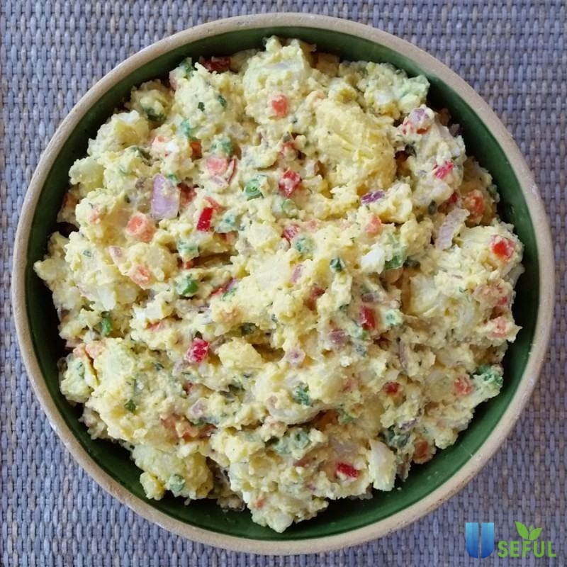 Salad Nga thơm ngon, lạ miệng sẽ góp phần khiến bữa ăn giảm cân của bạn không còn nhàm chán