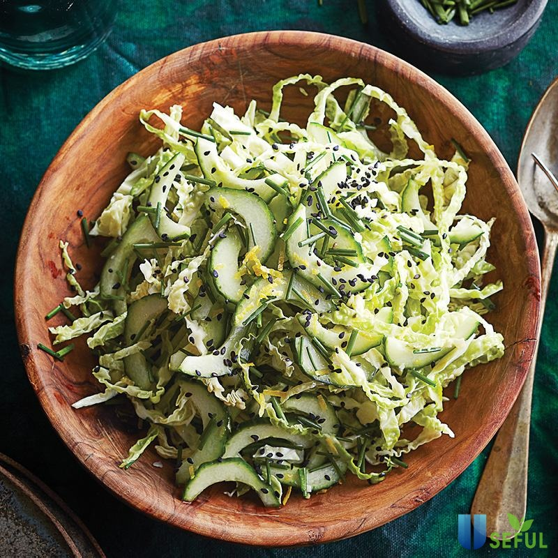 Công thức salad giảm cân từ bắp cải tím có chứa nhiều chất xơ và các chất dinh dưỡng khác giúp bạn lấy lại vóc dáng rất nhanh