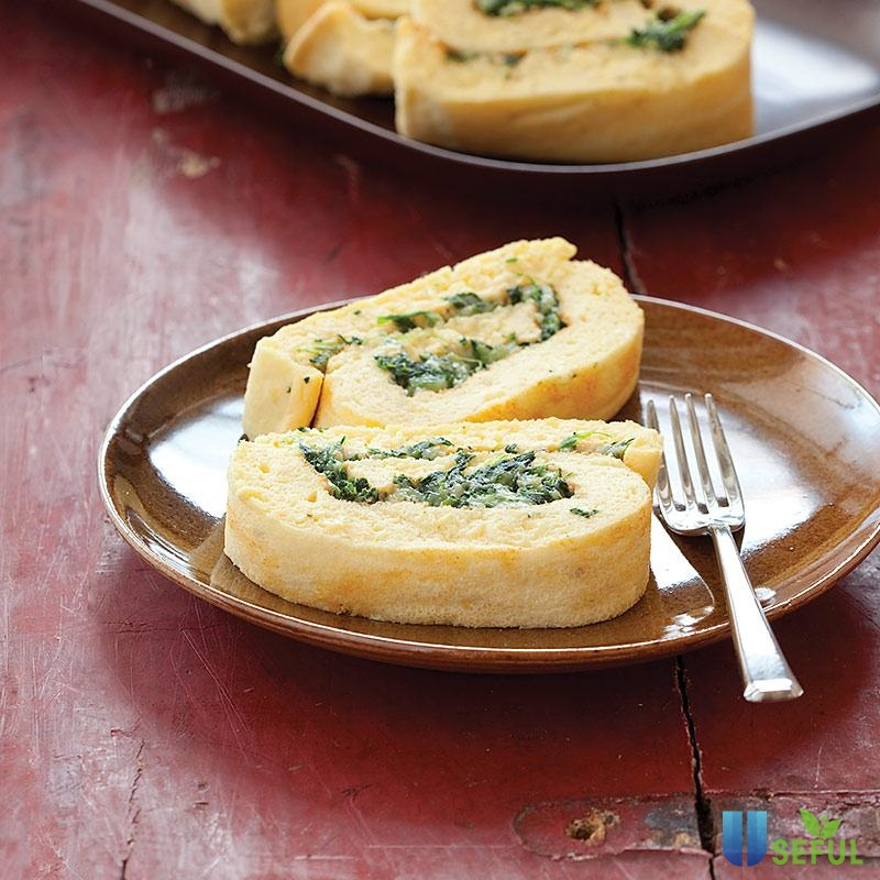 Trứng cuộn chiên là món ăn trưa không nên bỏ qua