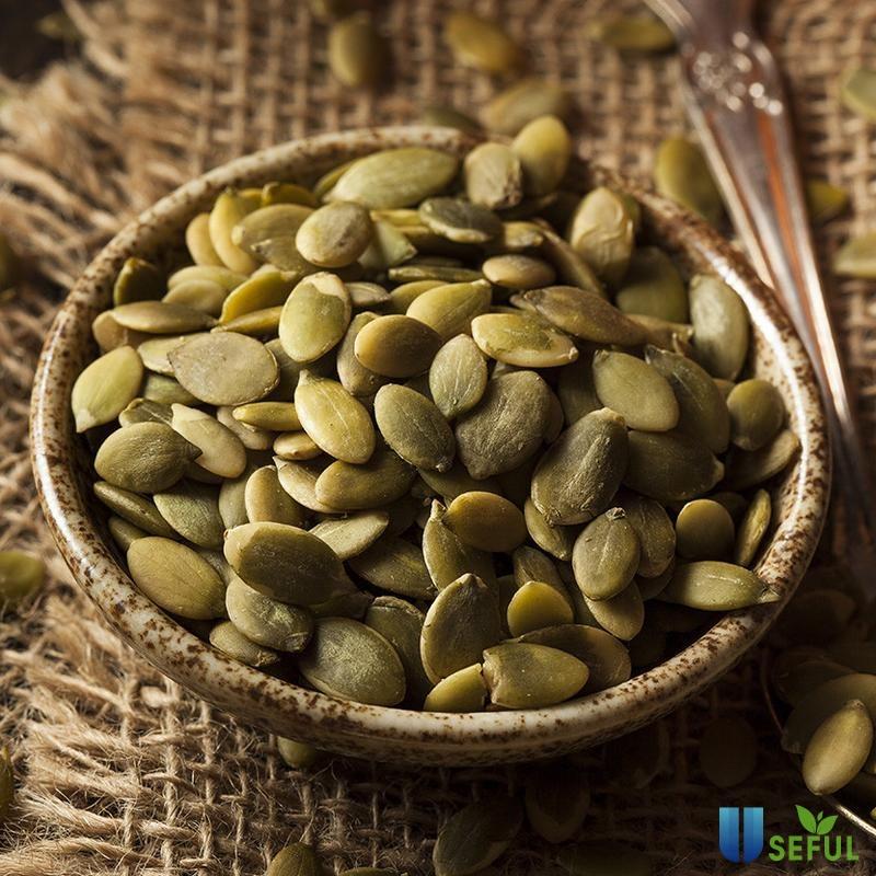 Nhâm nhi hạt bí ngô giúp hạn chế cơn đói