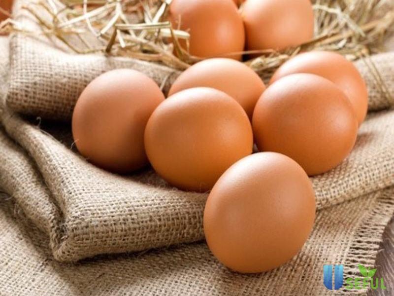 Trứng có chứa protein và chất béo lành mạnh
