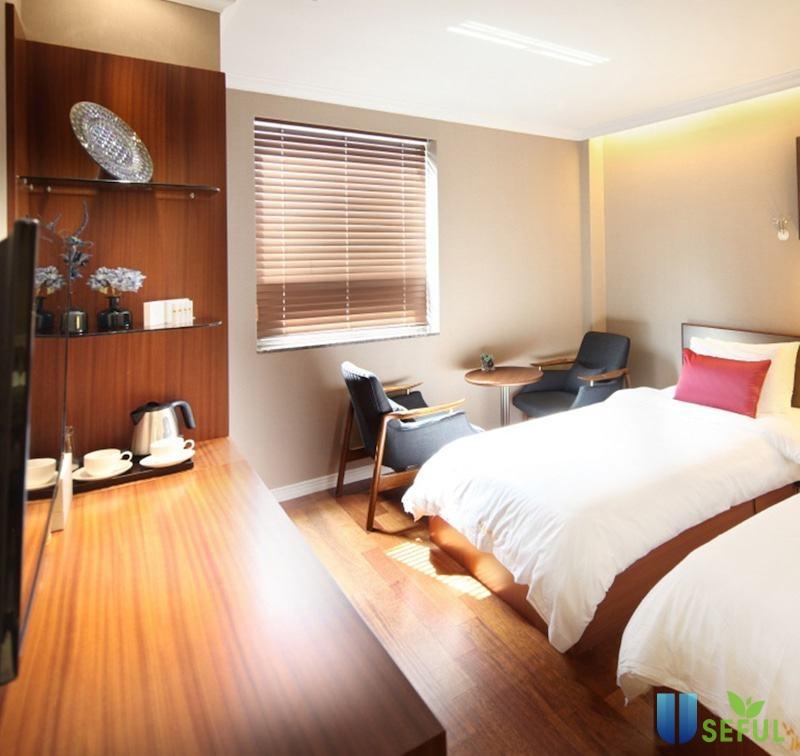 Phòng nghỉ ngơi ở bệnh viện phẫu thuật thẩm mỹ Hàn Quốc