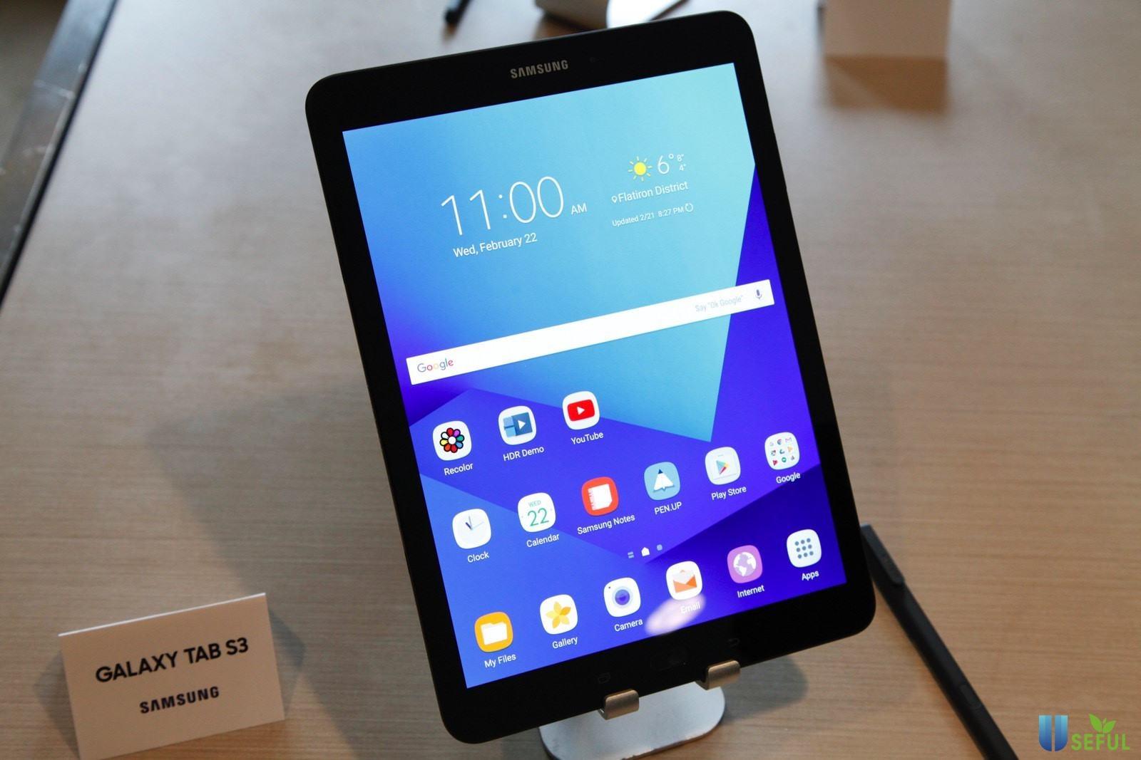 Samsung Galaxy Tab S3 ra mắt vào năm 2021