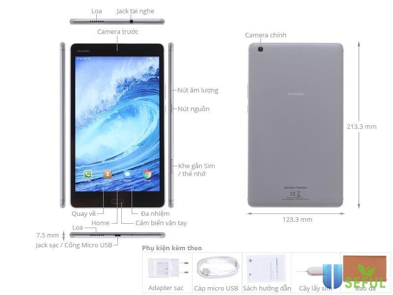 Máy tính bảng Huawei MediaPad M3 8