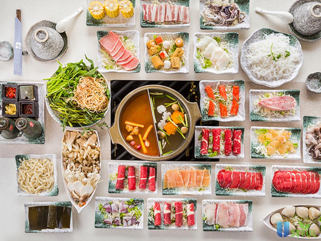 Thưởng thức buffet lẩu nướng tại hotpot Hoàng Yến với thực đơn ẩm thực phong phú