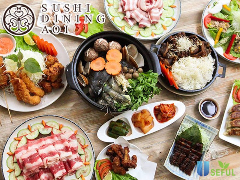 Buffet lẩu Sushi Dining AOI