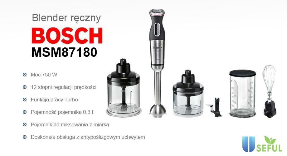 Máy xay cầm tay Bosch có khả năng xay rất linh hoạt và mạnh mẽ