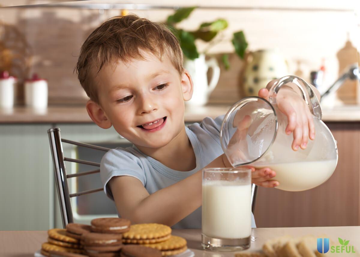 Sữa Nutrient Kao hỗ trợ tăng cường chiều cao cho bé yêu