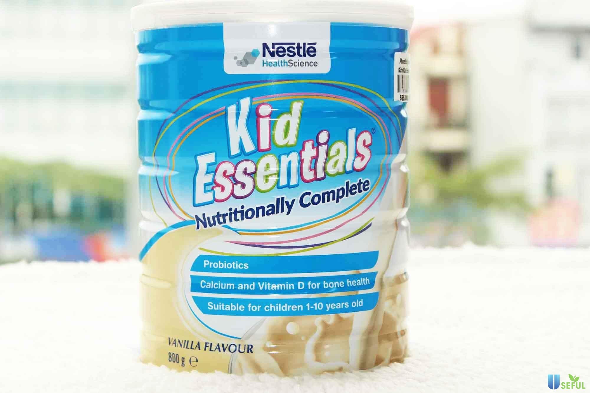 Sữa Kid Essentialsđặc biệt phù hợp với bé mới ốm dậy